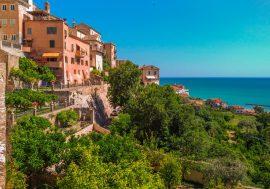 Grottammare Along the Riviera delle Palme in the Marches Region