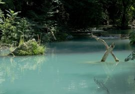 Tuscany's River Park in Colle Val d'Elsa near Siena