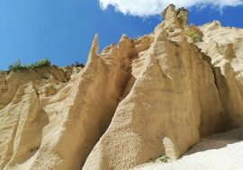 The Lame Rosse Canyon and Hiking Trail in the Marches Region